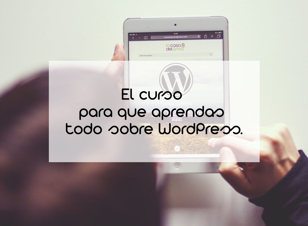 Curso Hey, WordPress