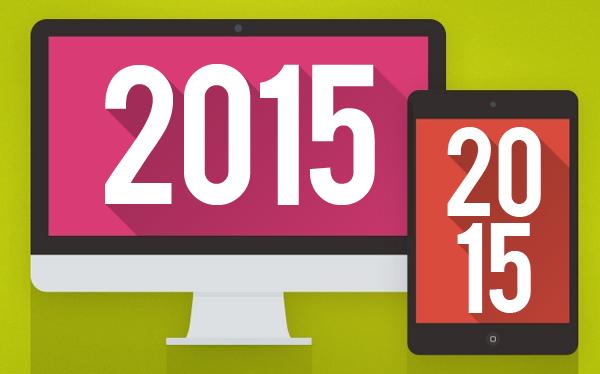 Tendencias en Diseño Web para el 2015