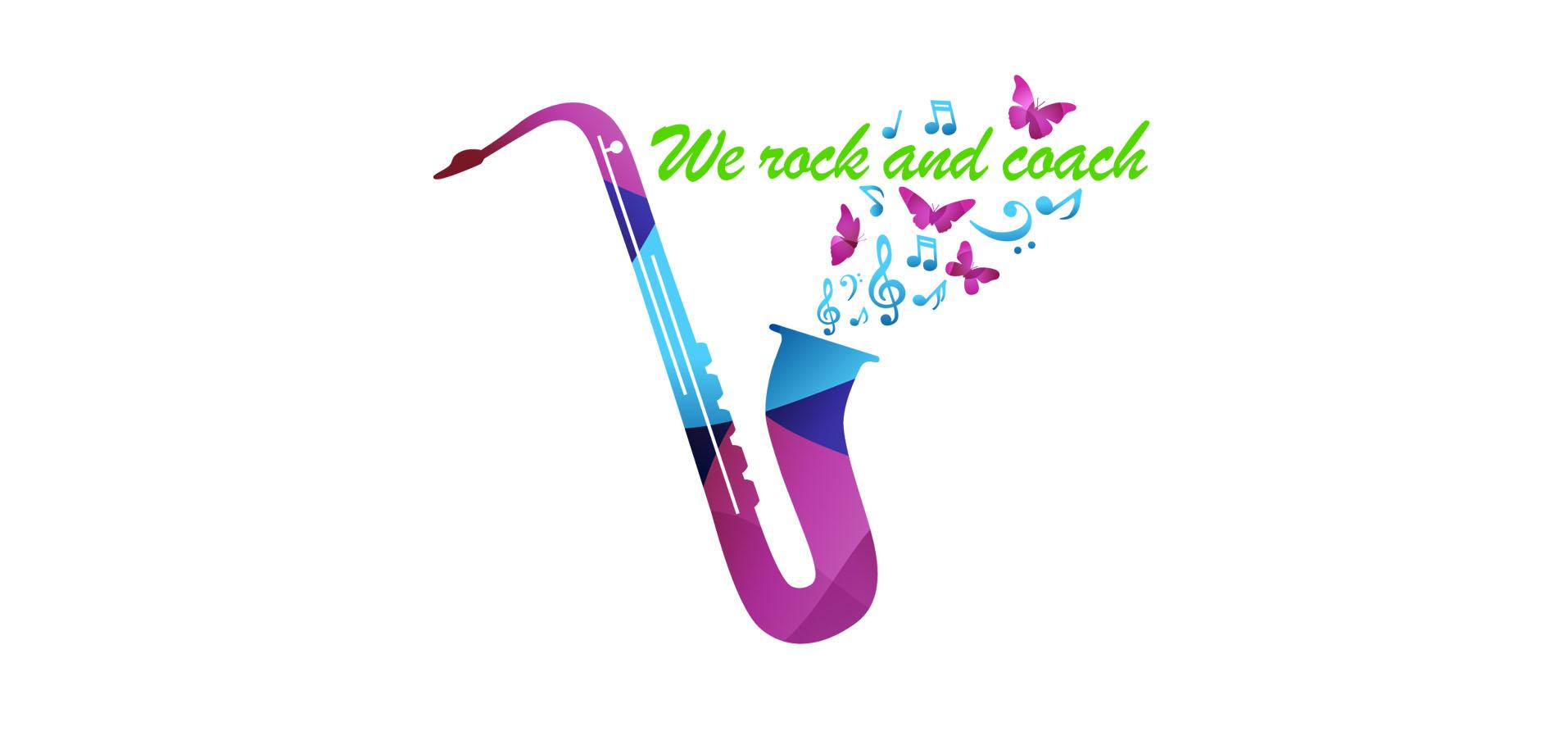 Diseño Logotipo We Rock and Coach