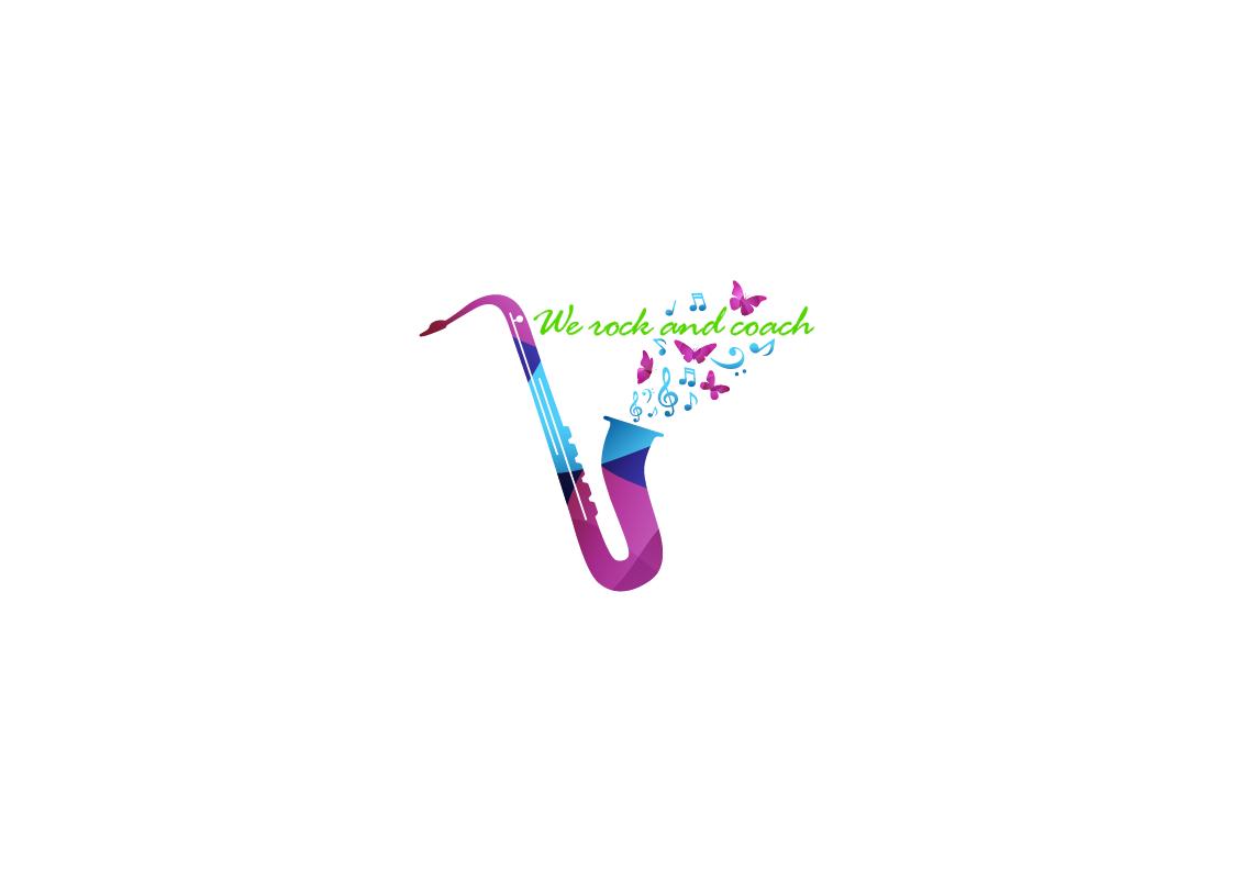 Diseno Logo Preliminar We rock and coach I