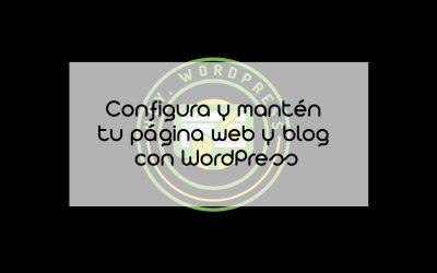 Curso Hey,WordPress – Últimos días de descuento en nuestro curso WordPress