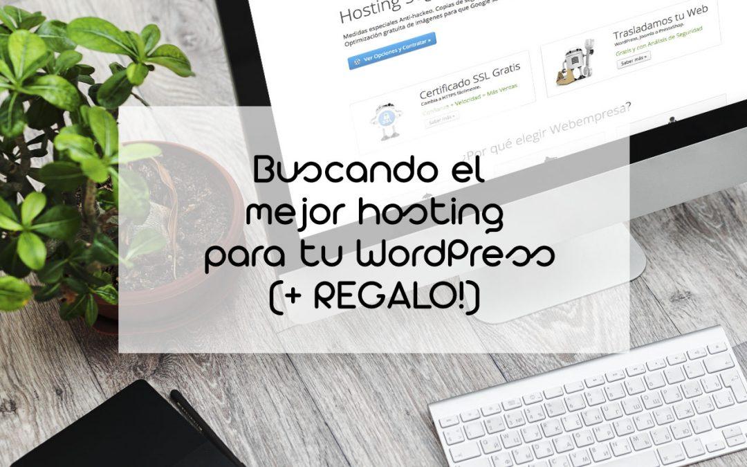 Buscando el mejor hosting para WordPress